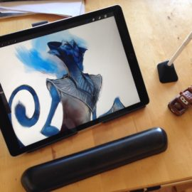 iPad Pro stand review: the Elevation Lab Draft Table