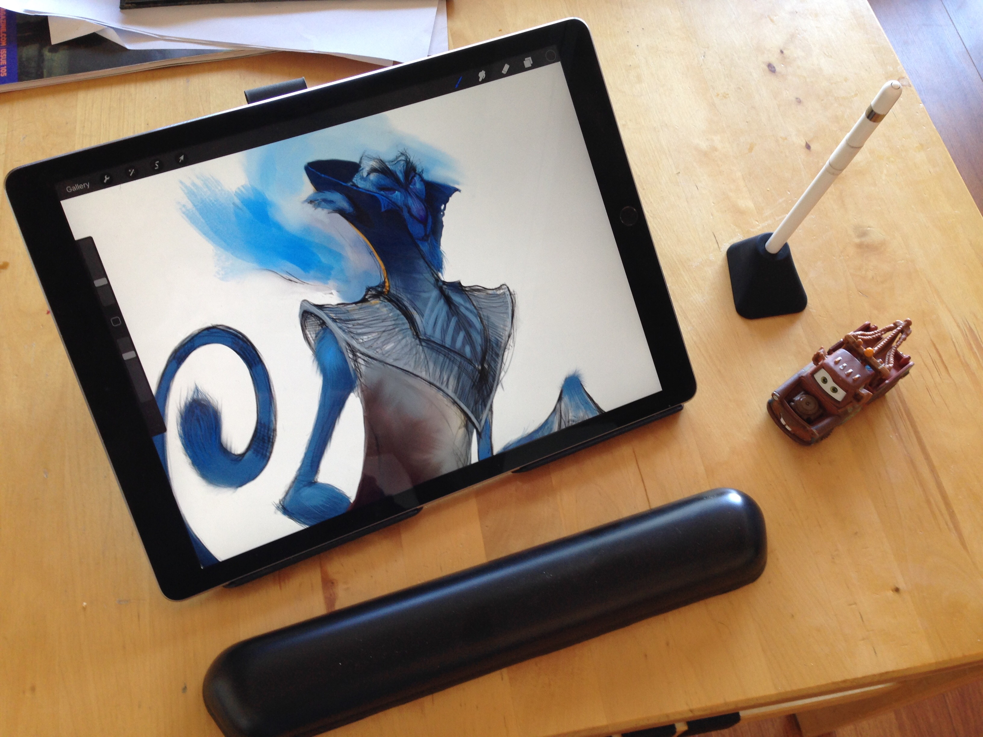 iPad Pro stand review: the Elevation Lab DraftTable stand